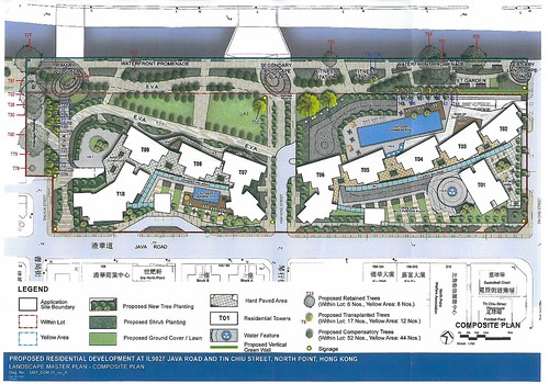 Sept north point estate new plans