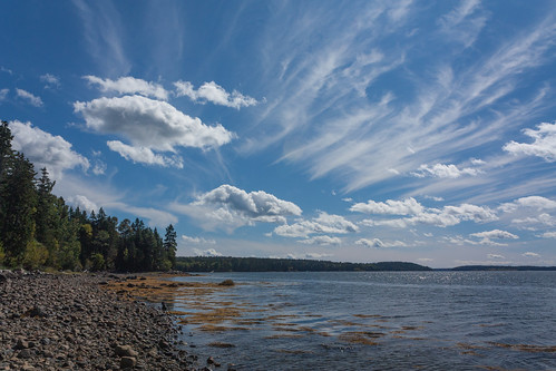 clouds unitedstates maine acadia mountdesert mountdesertisland pwpartlycloudy