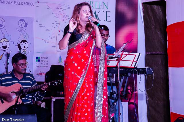 cultural program at durga puja