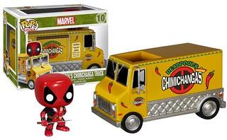 FUNKO RIDES 系列【死侍の墨西哥捲餅車】Deadpool's Chimichanga Truck