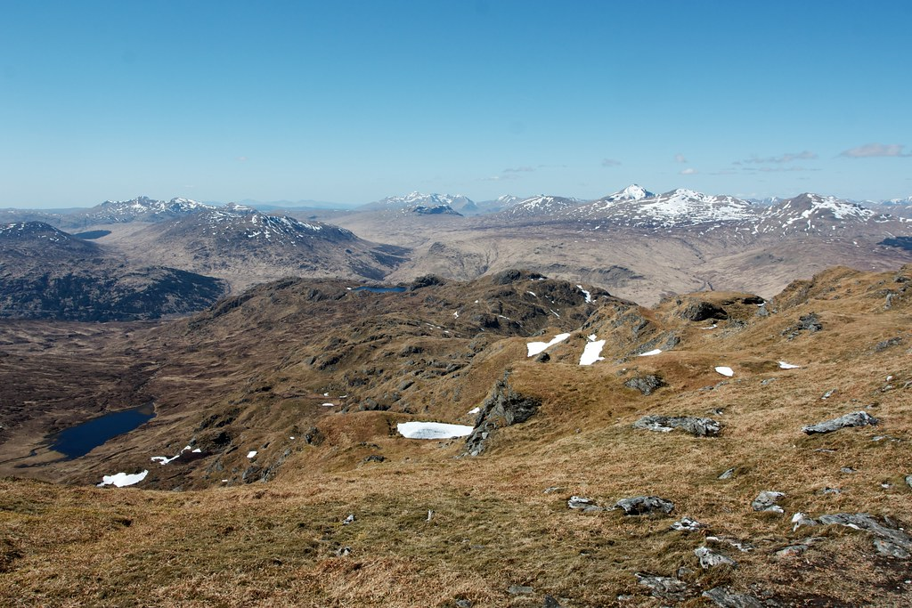 West from Beinn Chabhair