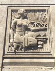 Bas Relief on The Ashland Ave Bridge.