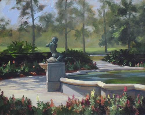 Turtle Boy Fountain, Audubon Park