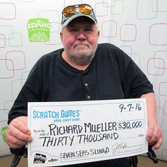 Richard Mueller - $30,000 Seven Seas Slingo