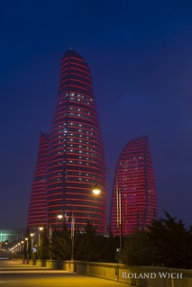 Baku - Flame Towers
