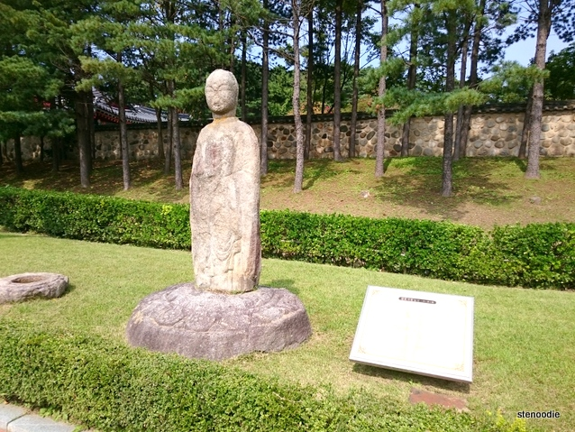Hanok sculpture