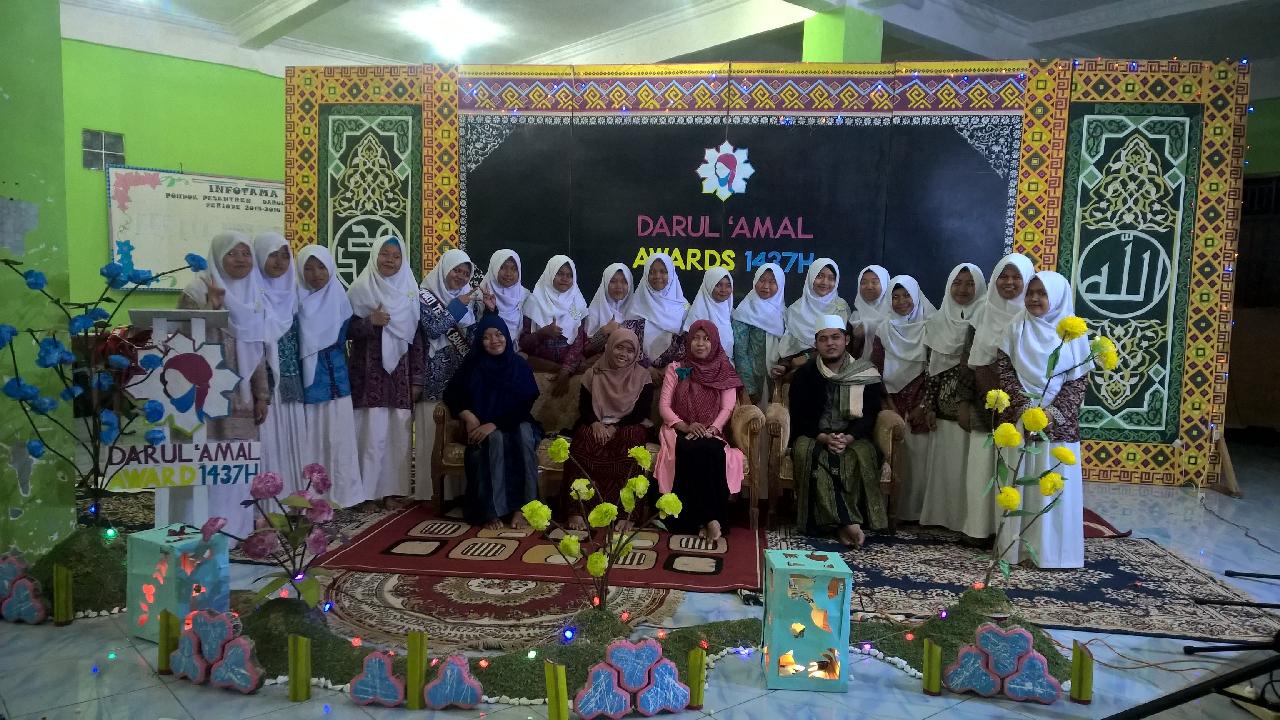 Nominasi Dan Malam Penghargaan Darul 'Amal Awards 1437H