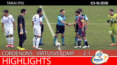 Cordenons-Virtus V. del 23-10-16