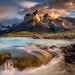 Paine Sunrise by Dan Ballard Photography