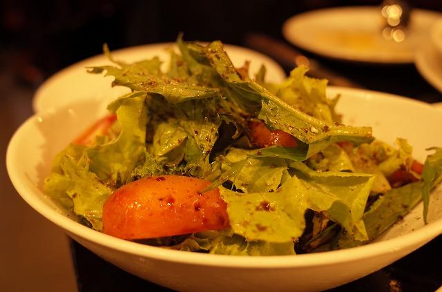 <p>i)ステーキプレートのサラダ</p>