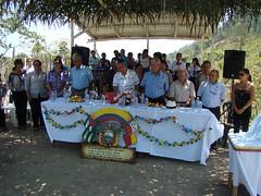 Inauguración sitio Tigre, parroquia Santa Rita