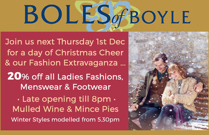 Boles Thursday 1st December 2016
