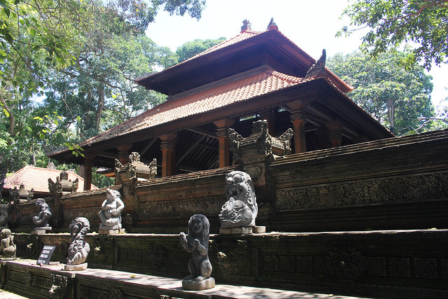 Temple at Monkey Forest, Ubud
