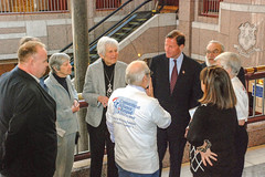 Receiving Thanks from Seniors by ct senatedems