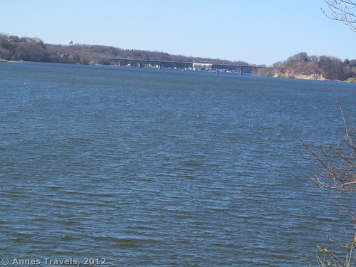Irondequoit Bay Bridge from the Red Trail, Abraham Lincoln Park, Webster, New York