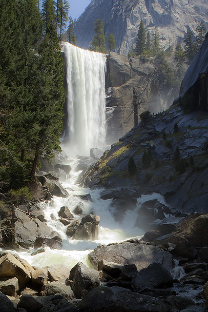 Vernal Falls and the Merced River