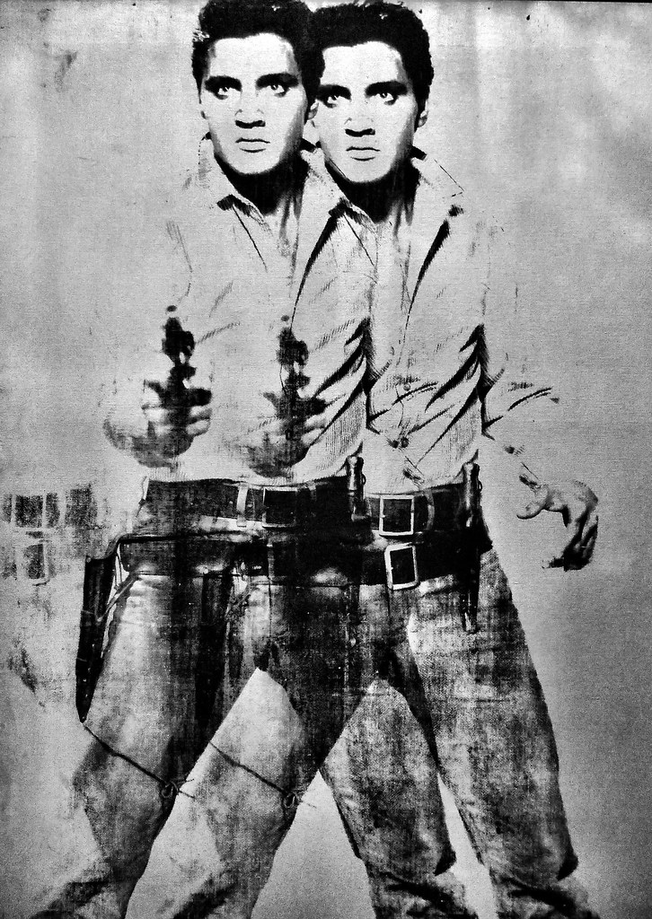 Double Elvis, Andy Warhol