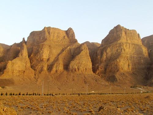 mountains landscape scenery iran plateau ranges iranian geography province yazd mounts كوه رشته zagros زاگرس oshtan