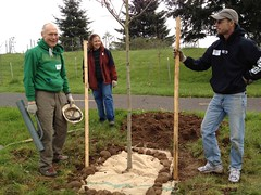 April 14, 2012 Planting in Memory of Gail Achterman