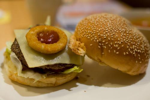 Pさま則是的美國西部漢堡~