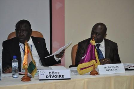 Cérémonie d'ouverture de la 19ème session ordinaire du conseil des ministres du CAMES