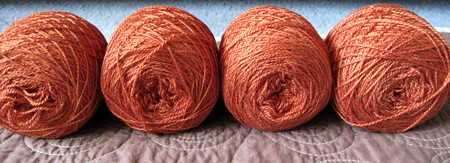 Red Fish Merino/Silk Lace