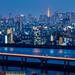 Tokyo Blue Hour by arcreyes [-ratamahatta-]