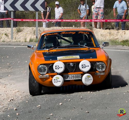 Teodoro Fernández y Bernardo Quero. Rallye Go Karts Orihuela Costa.