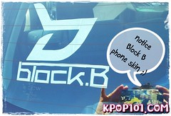 Block B DIY Kpop sticker