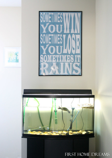bathroom wall quote print art poster turtle sometimes you win sometimes you lose sometimes it rains