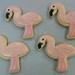 Flamingo Cookies - <span>www.cupcakebite.com</span>