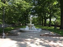 Fountain at Lambert Castle, Paterson, New Jersey