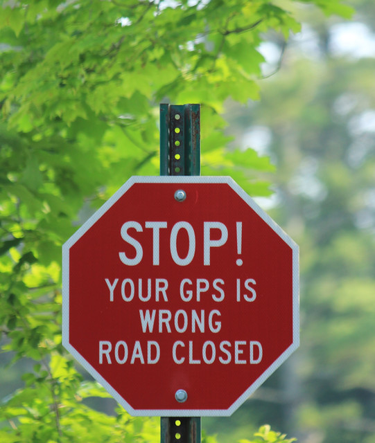 GPS Warning