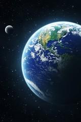 Earth & Moon