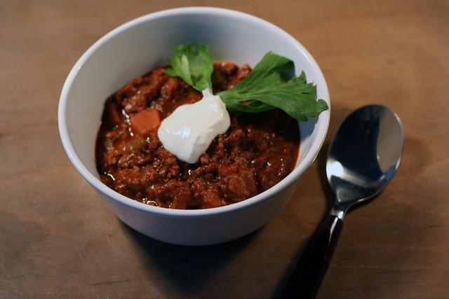 chili mit zimt & schokolade (& fleisch, eh klar!)