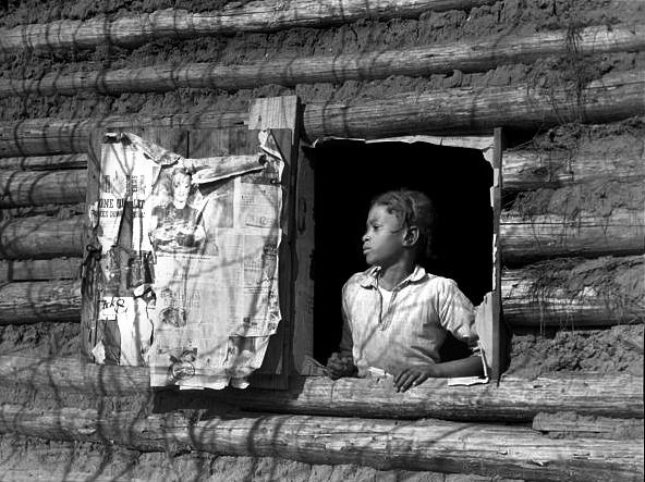 Artelia Bendolph, Gee's Bend Alabama, 1937 - Arthur Rothstein
