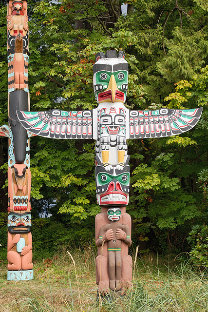 Thunderbird Bird Totem Pole - photo#4