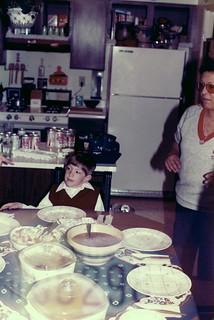Colorado   -   Colorado Springs   -  Ft. Carson   -   Toni & Jack Haynes   -   Toni was a wonderful cook   -   March 1983