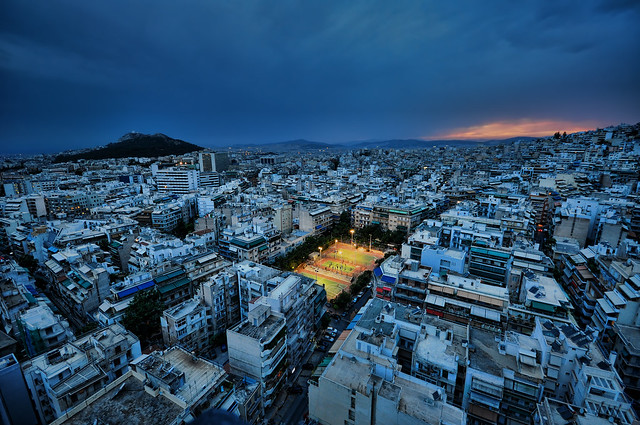 Blue Hour in Athens