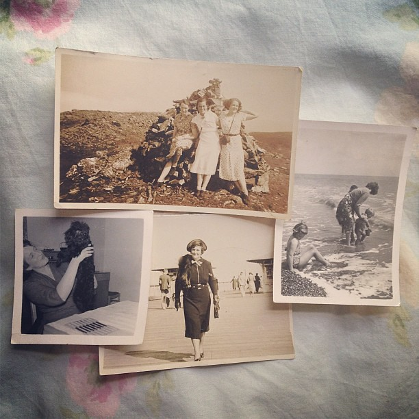 Vintage photos found today. All for 50p.