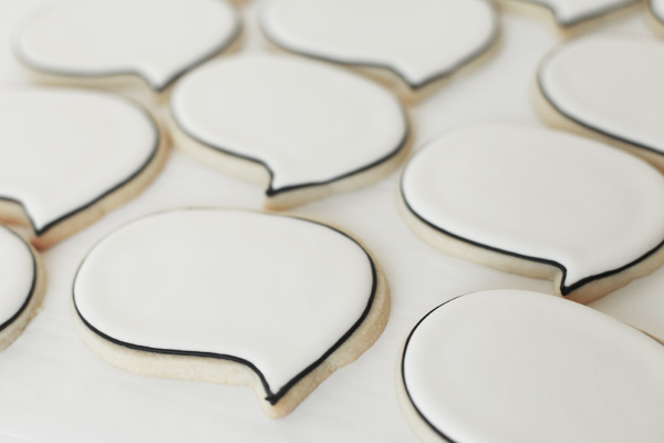 speech bubble cookies 3