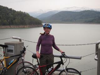 Biking down from Daisetzusan
