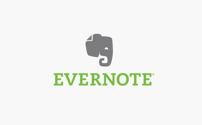 evernote logo design