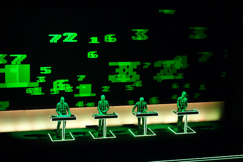 Kraftwerk live - Sydney Opera House Saturday 25/03/13 - 15