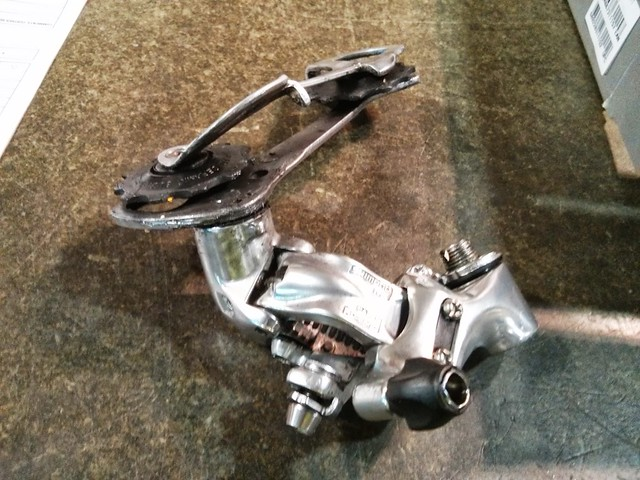 Broken Rear Derailleur