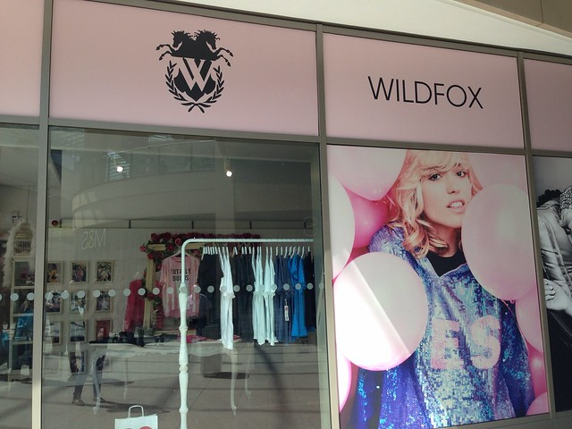 Wildfox popup shop
