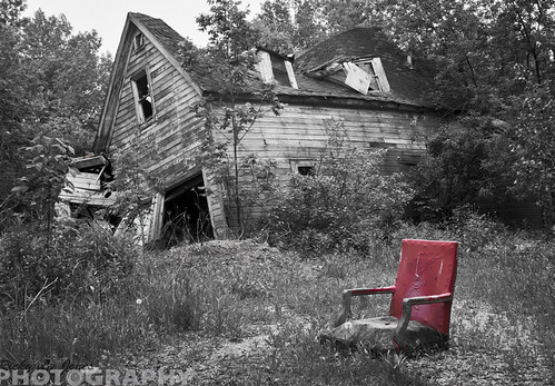 A chair for one by Ricky L. Jones Photography