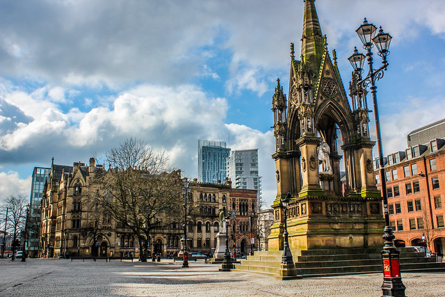 Albert Square de Machester