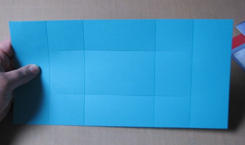 tri fold card instructions