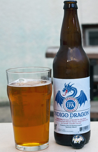 Review: Alley Kat Indigo Dragon Double IPA by Cody La Bière
